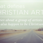 Christian Art: Don't worry about the message